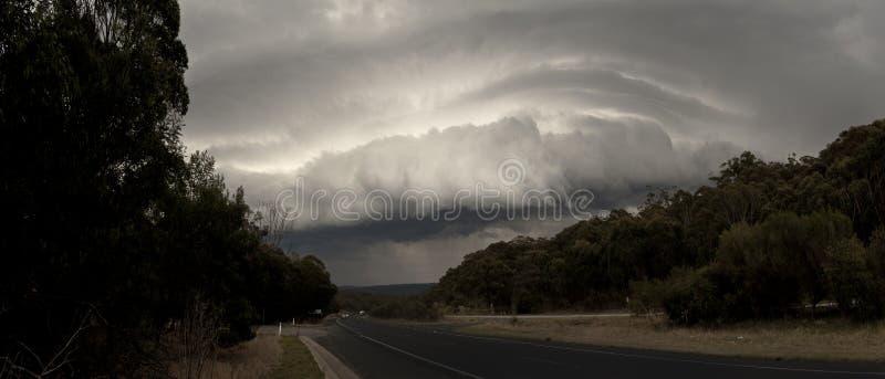 La tempête à l'intérieur de la Nouvelle-Galles du Sud images stock