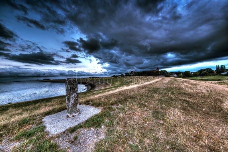 La tempête sourcilleuse image stock