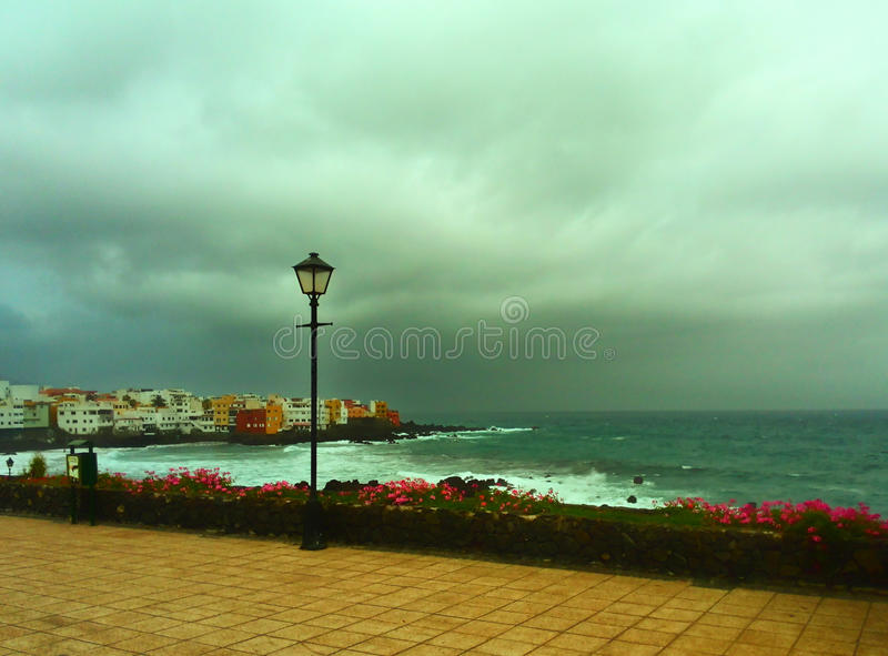 La tempesta sta venendo fotografia stock libera da diritti