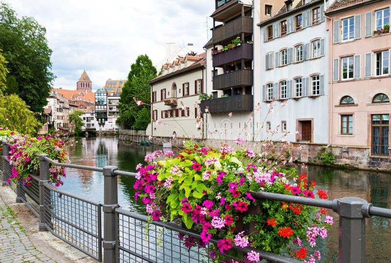 La Tenger Frankrijk in Straatsburg royalty-vrije stock fotografie