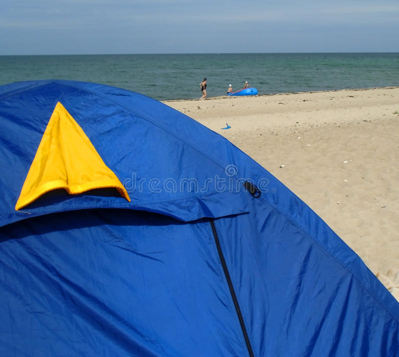 La tente image stock