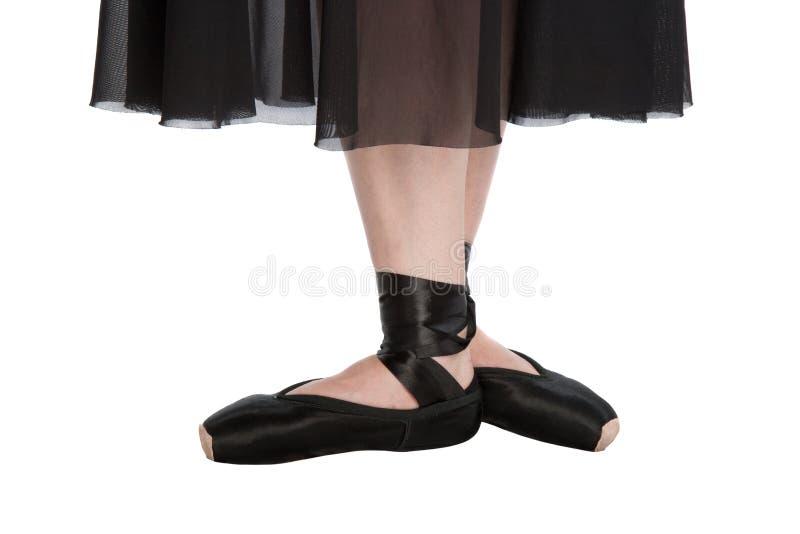 La tercera posición de ballet foto de archivo libre de regalías