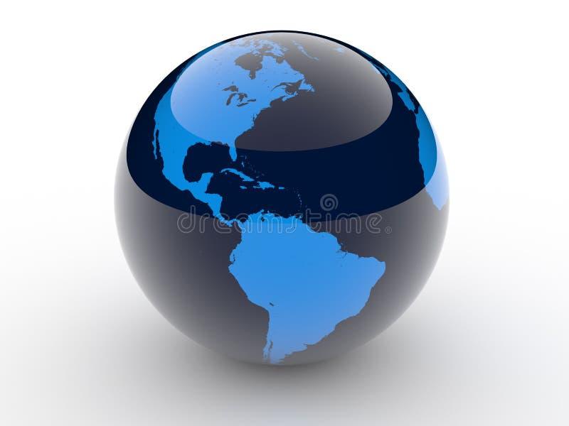 La terra Rlaneta illustrazione di stock