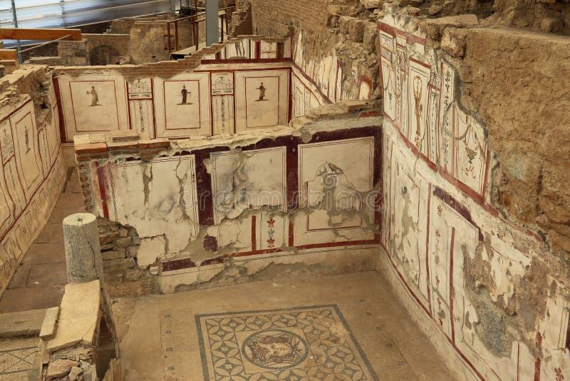 La terrasse d'Ephesus loge l'intérieur image libre de droits
