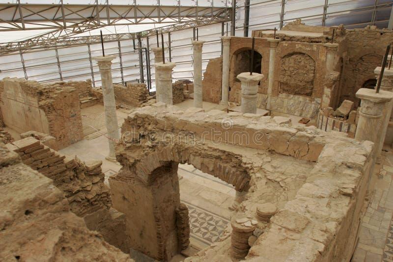 La terrasse d'Ephesus loge le célèbre, A d de gare image stock