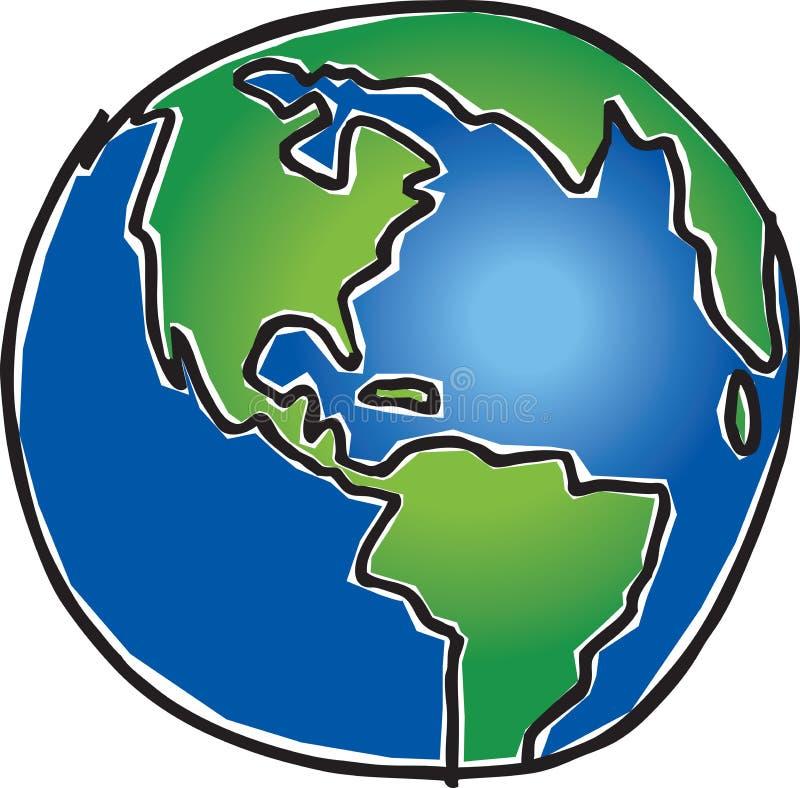 La terre illustration stock