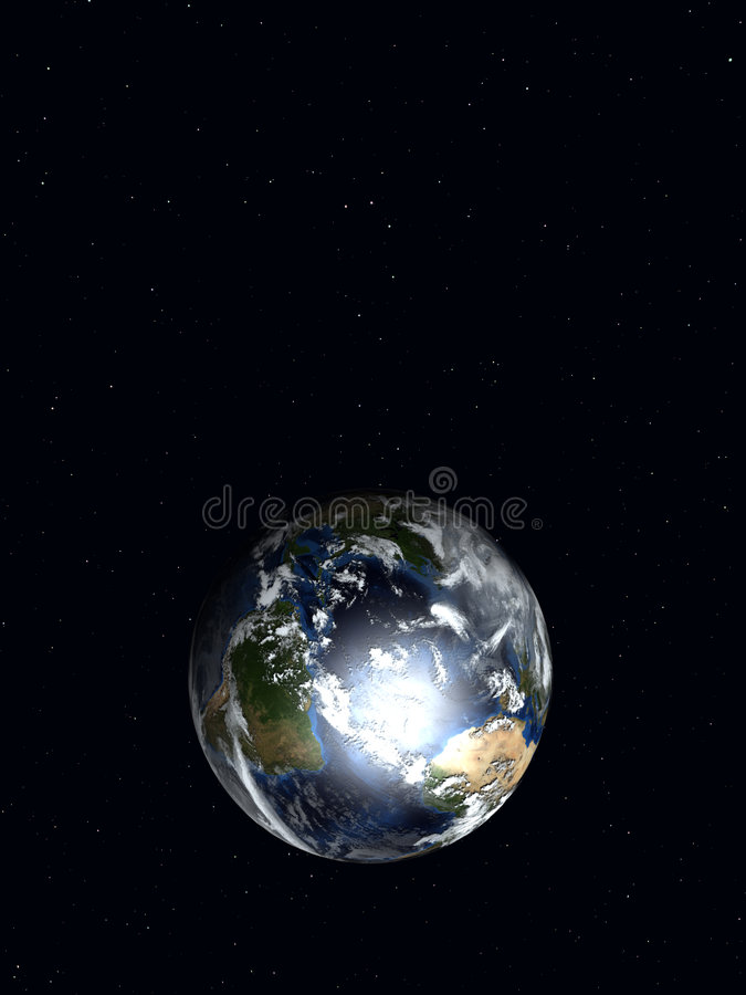 La terre 3 illustration stock