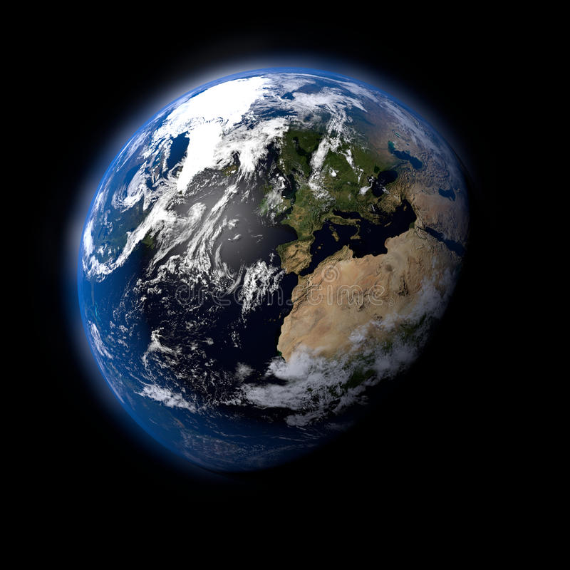 La terre photographie stock