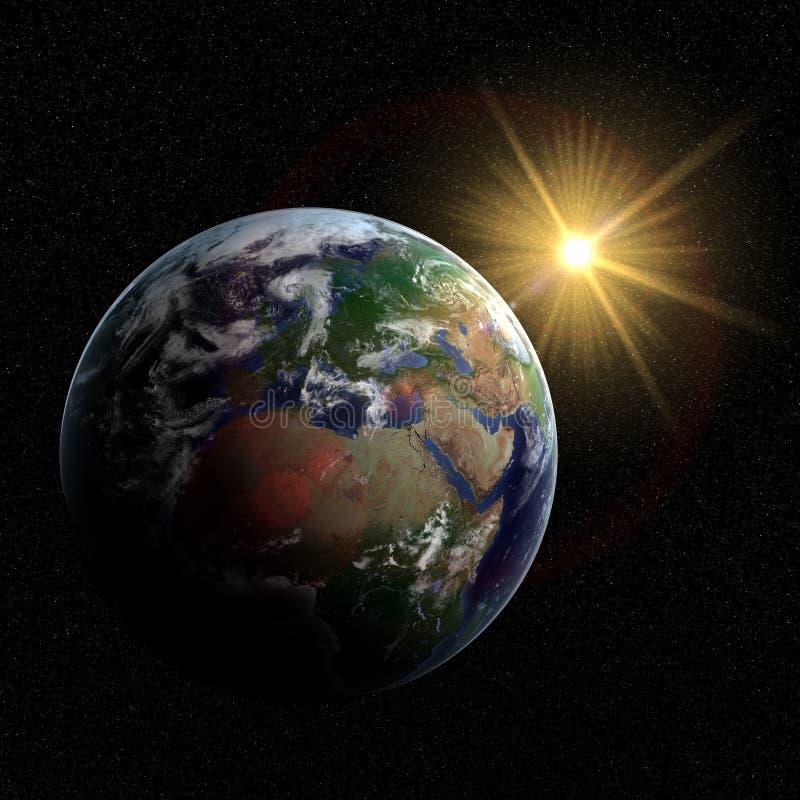 la terre 3D illustration de vecteur