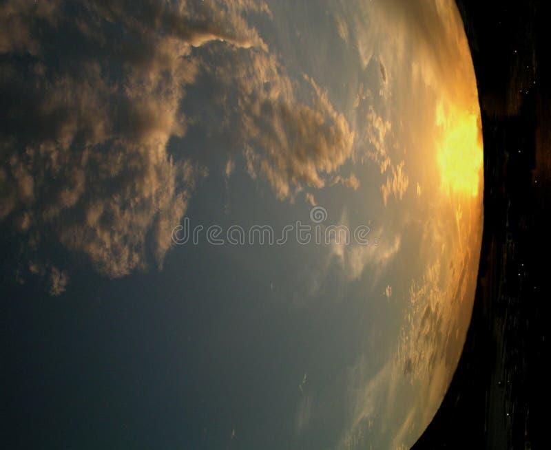 La terre abstraite image stock