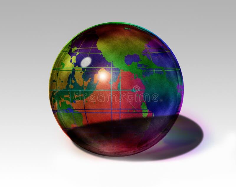 La terre colorée illustration de vecteur