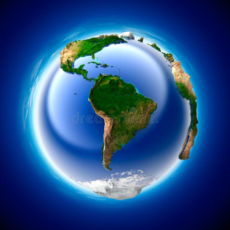 La terre d'écologie illustration de vecteur