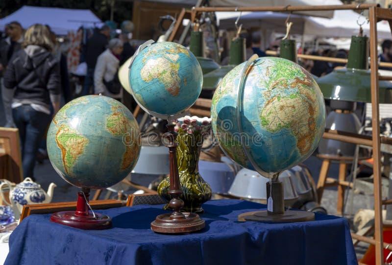 La terre de globe photos stock