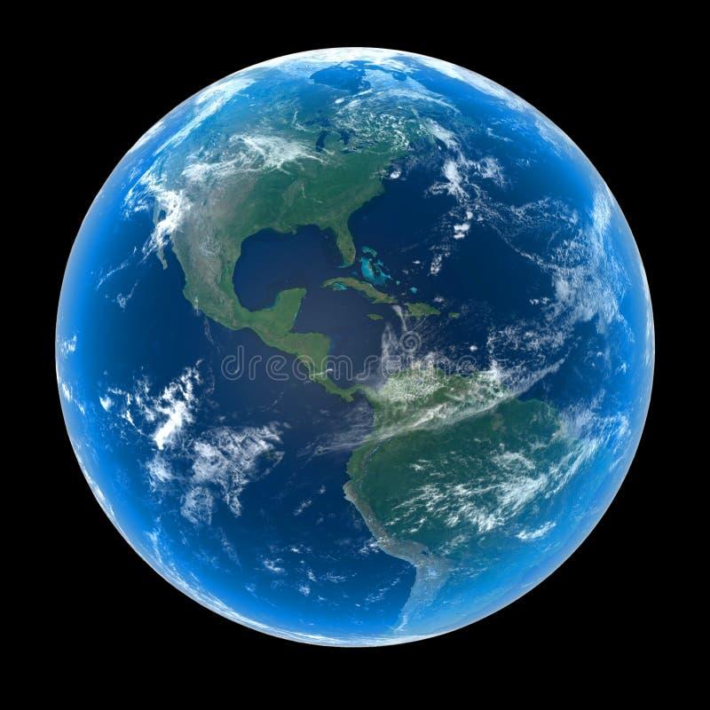 La terre de planète illustration stock