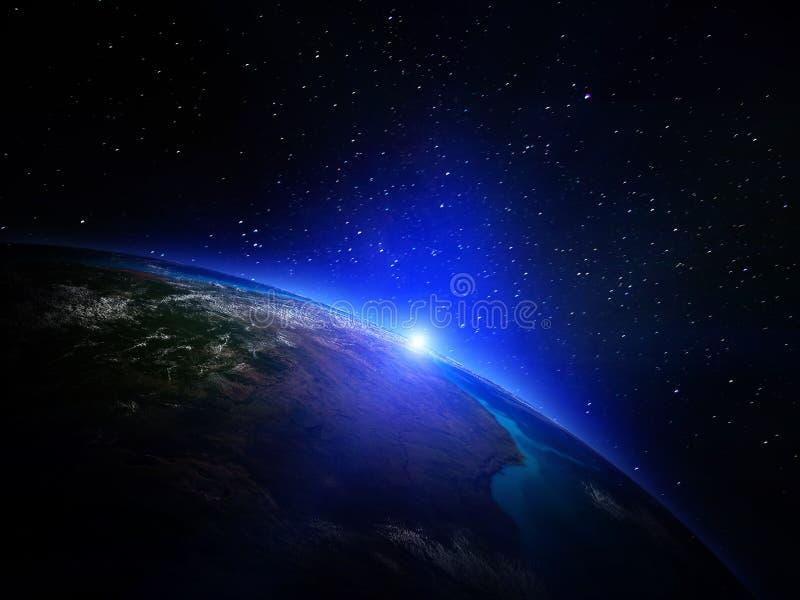 La terre de planète de l'espace illustration libre de droits
