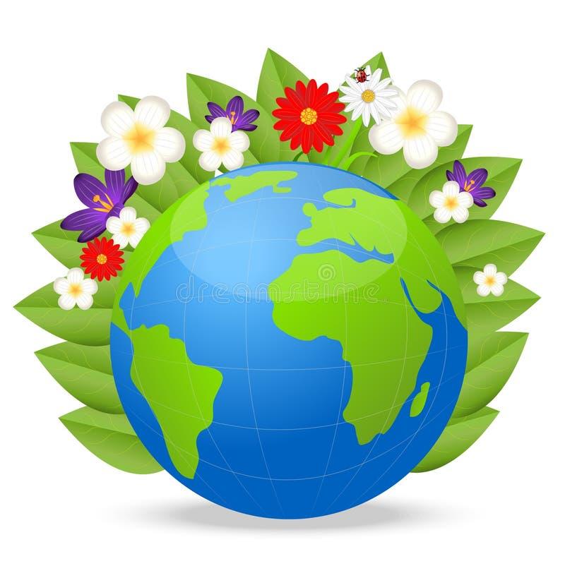 Une Planete Ronde Est La Terre Joyeuse Personnalite Illustration De Vecteur Illustration Du Joyeuse Terre 37284994
