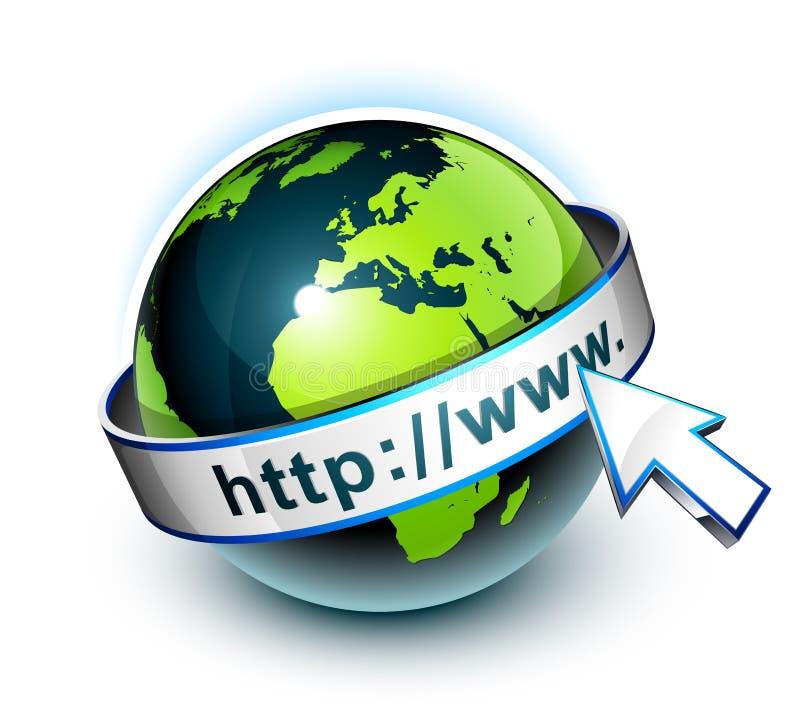 La terre et World Wide Web