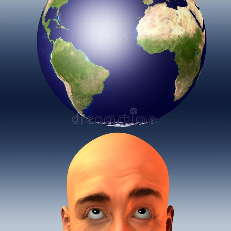 La terre II illustration stock