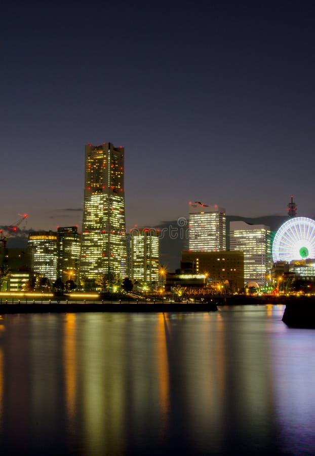 La terre Mark Tower de Yokohama est une tache guidée dans Minato Mirai 21, Japon Minato Mirai est une ville qui signifie l'avenir image stock