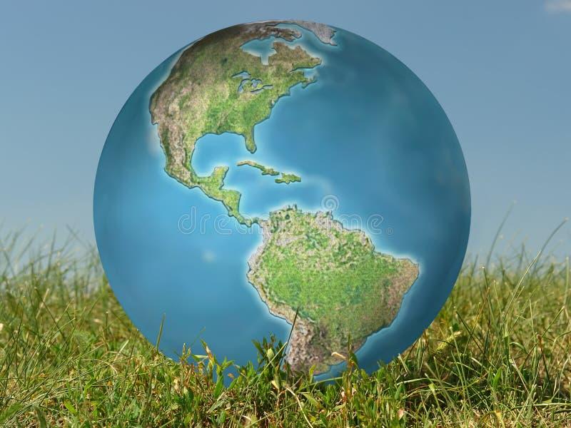La terre perdue images libres de droits