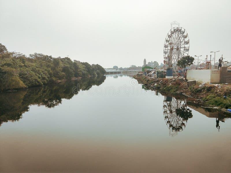 La terre polluée image stock