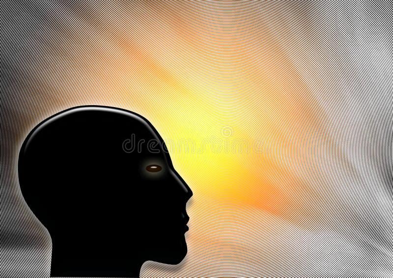 La testa royalty illustrazione gratis