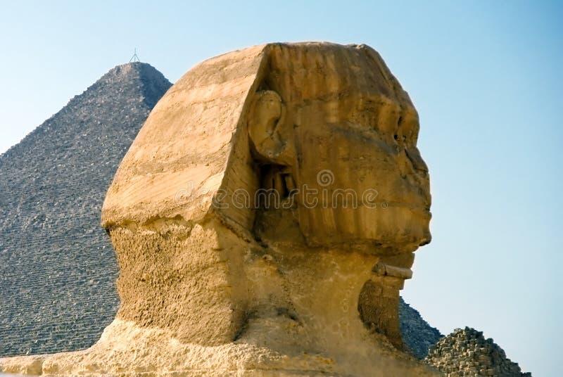 La testa dello Sphinx immagini stock