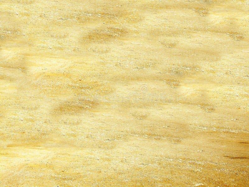 La textura 3D de la arena y de la piedra rinde stock de ilustración