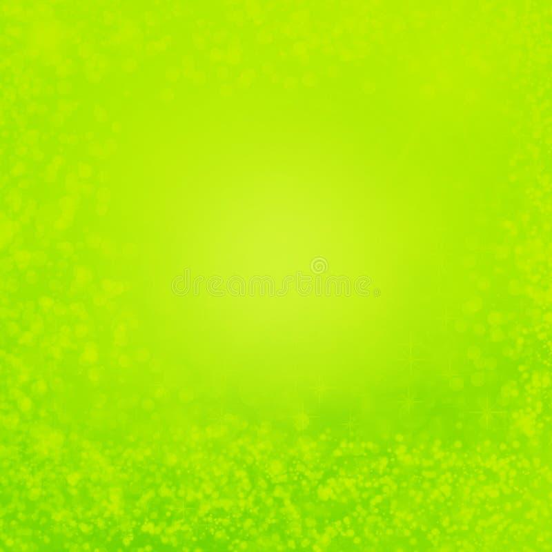 La textura abstracta verde del fondo con los elementos decorativos sutiles puede utilizar como fondo de Pascua stock de ilustración
