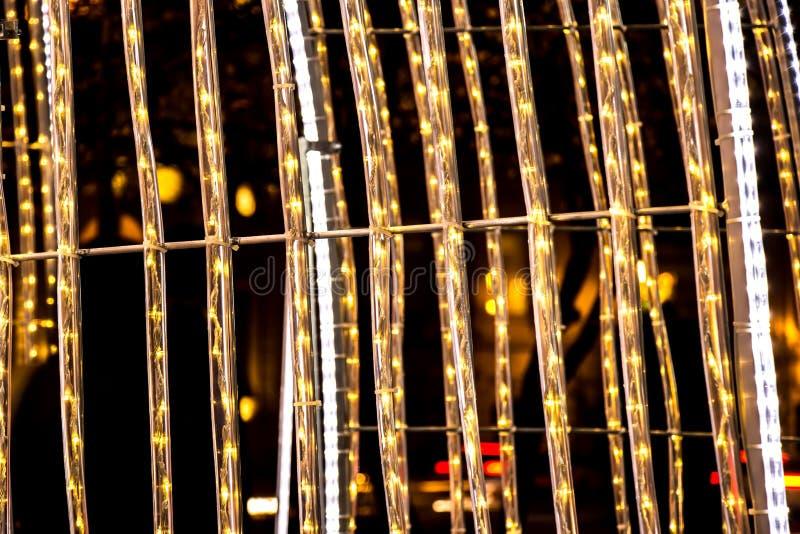 La textura de la luz de la noche foto de archivo libre de regalías