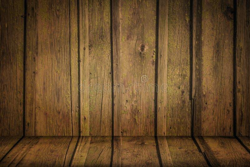 La textura de madera marrón imágenes de archivo libres de regalías