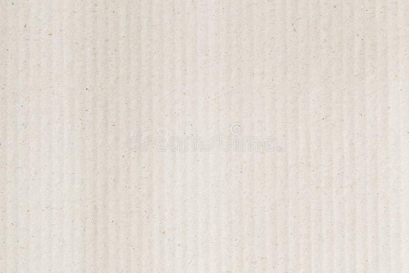 La textura de papel de la cartulina acanalada de Brown como fondo para la presentaci?n, extracto recicla la textura de papel para imagen de archivo