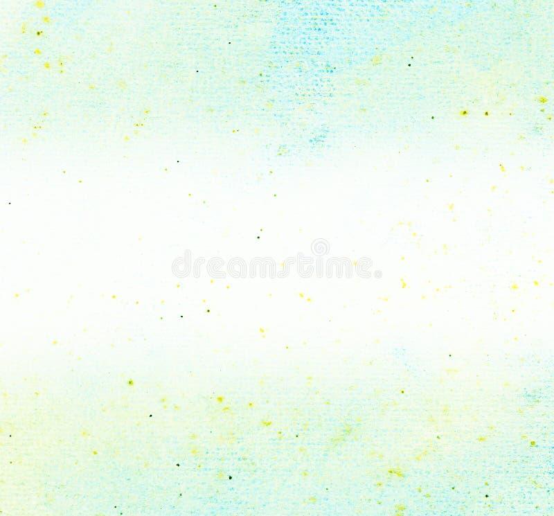 La textura de papel pintó el color de agua para el fondo, grunge diseñado foto de archivo libre de regalías