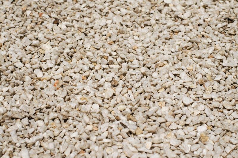 La textura de pequeñas piedras fotos de archivo