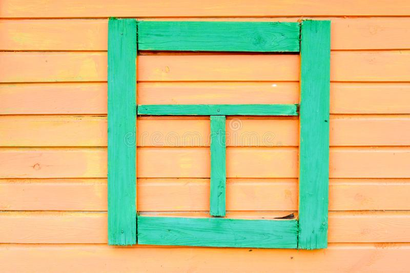 La textura de tablones de madera del amarillo cose horizontal pintado con el fondo subido falsh-ventana natural del maniquí de lo imagen de archivo libre de regalías