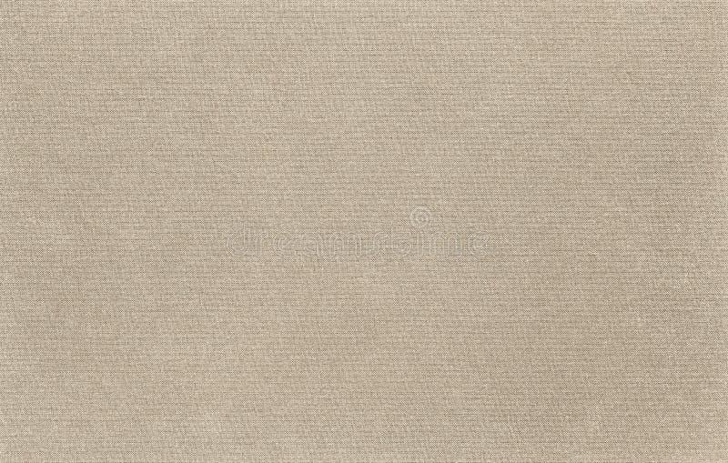 La textura de la tela de la lona es color natural foto de archivo libre de regalías