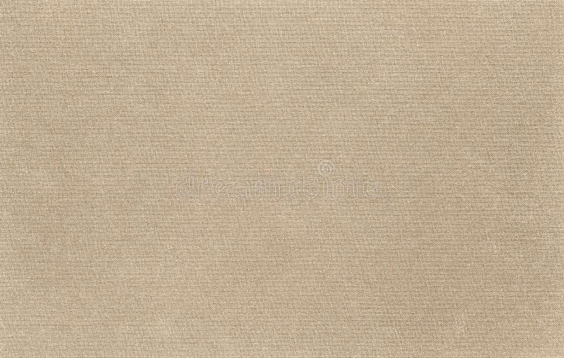 La textura de la tela de la lona es color natural fotografía de archivo