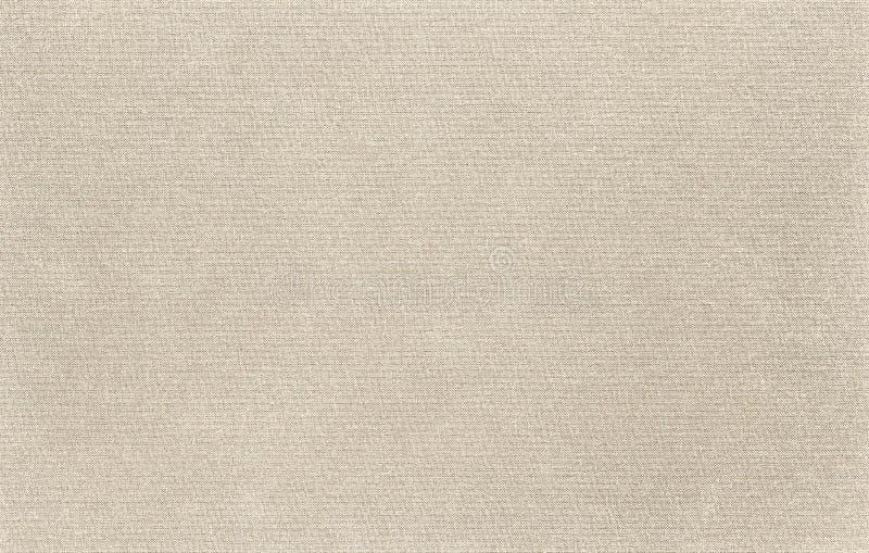 La textura de la tela de la lona es color natural imagen de archivo libre de regalías