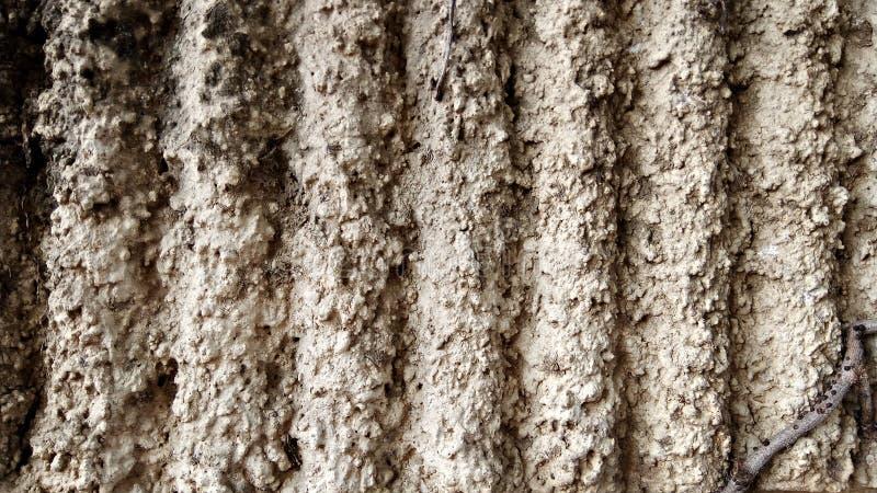La textura de viejo acanala el muro de cemento fotos de archivo