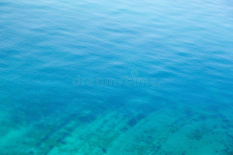 La textura del agua imágenes de archivo libres de regalías