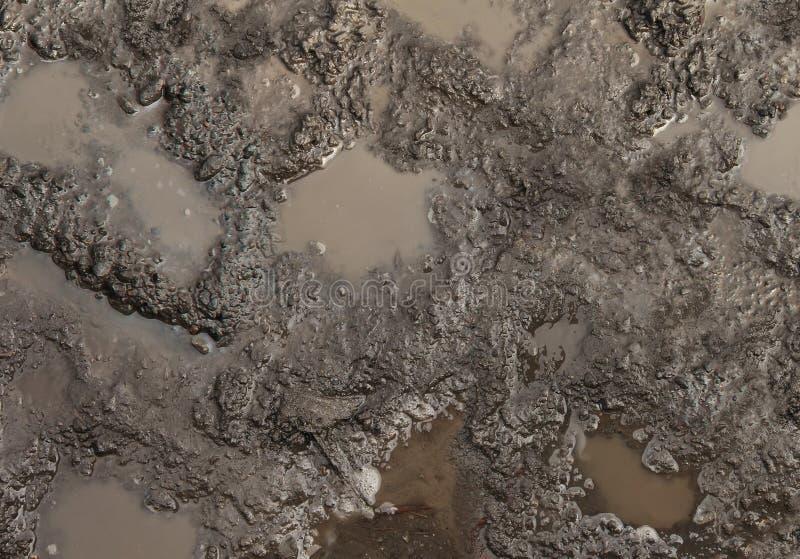 Textura del fango