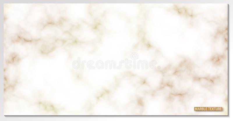 La textura del mármol Fondo del vector Una imagen detallada de una piedra noble ilustración del vector