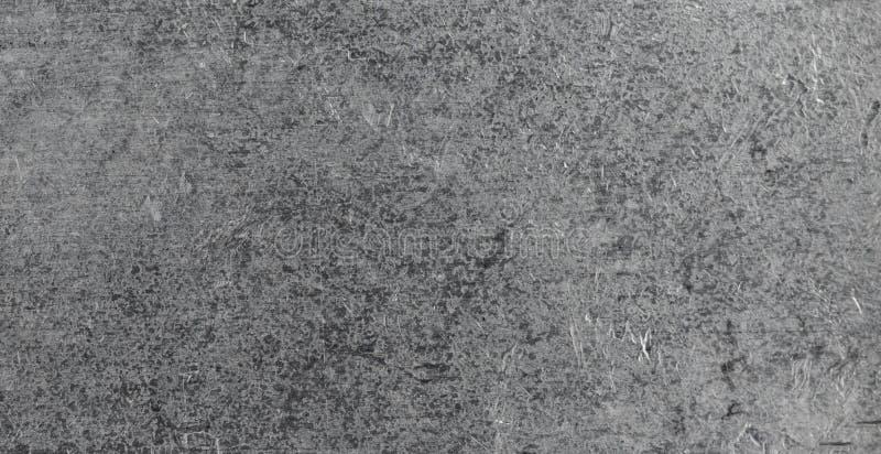 La textura del metal forjó el proceso, cinc fotografía de archivo libre de regalías