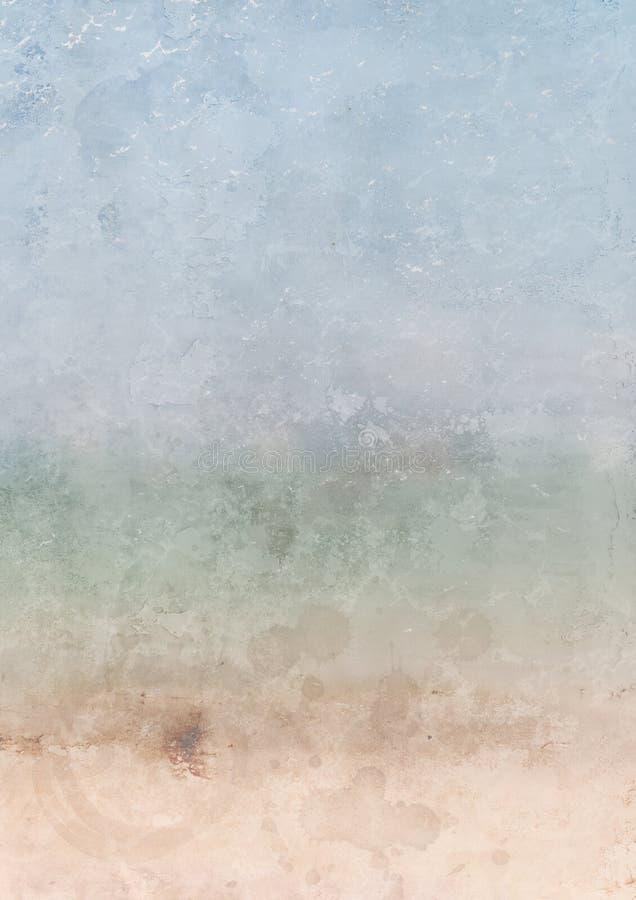 La textura del papel del Grunge con color de la pendiente, puede utilizar para el fondo fotografía de archivo libre de regalías
