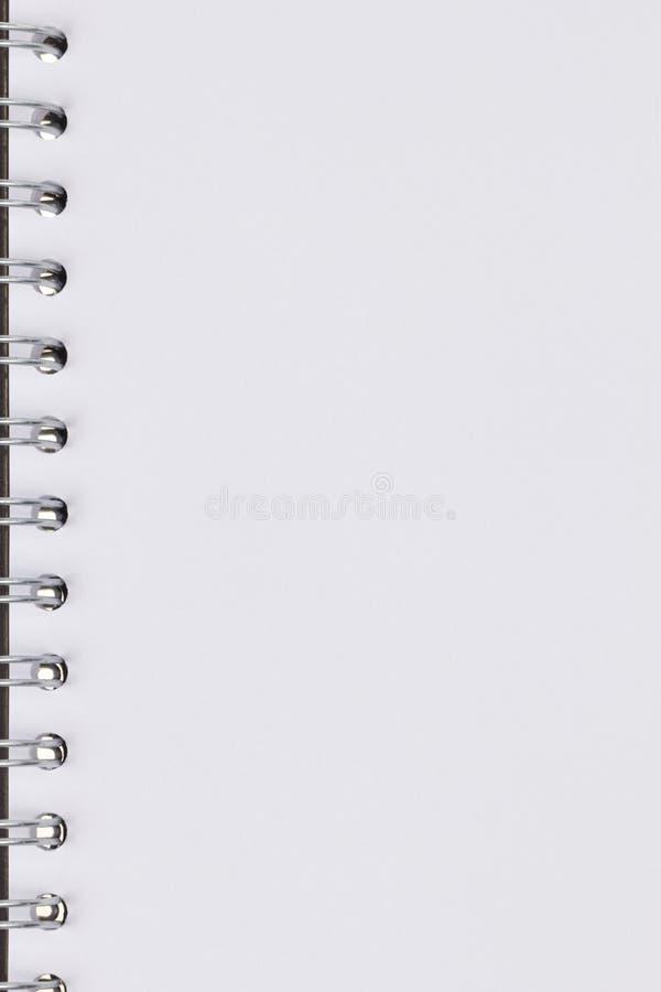 Textura del primer de la libreta con espiral libre illustration