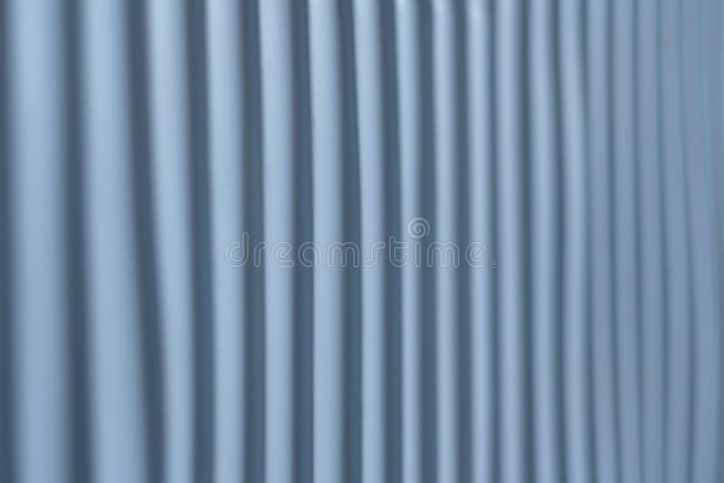 La textura proveída de costillas rayó el fondo de acero de la pared del color imagen de archivo libre de regalías