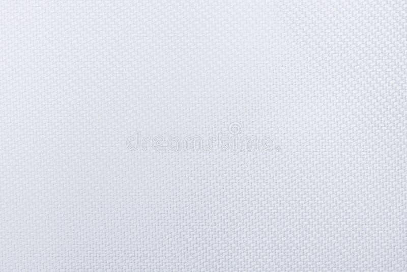 La texture blanche de tissu, se ferment vers le haut du fond extérieur illustration de vecteur