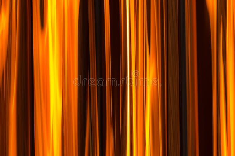 La texture de fond de l'orange du feu barre la base lumineuse illustration libre de droits
