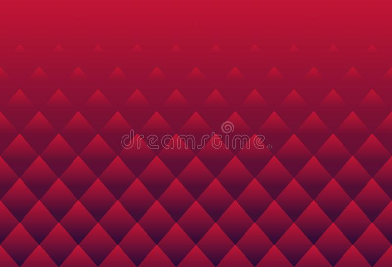 La texture de luxe de lotus Bouddha de modèle de luxe rouge d'abrégé sur ajuste illustration stock
