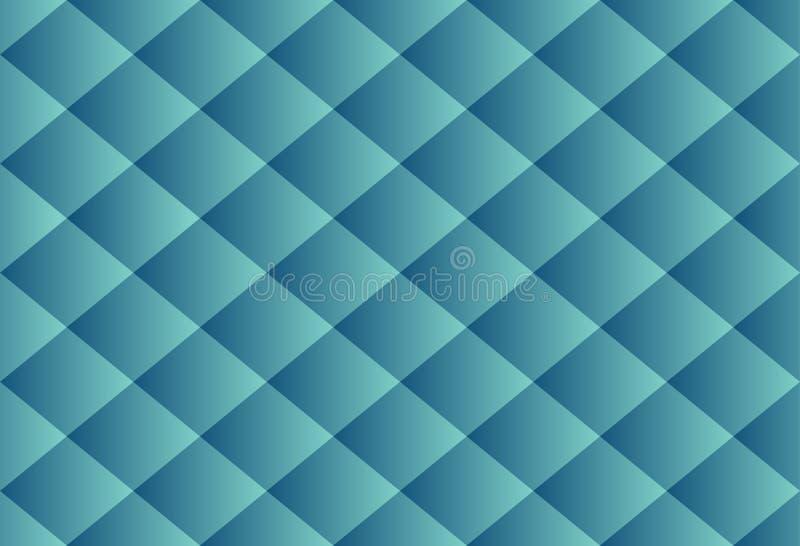La texture de luxe de modèle de luxe abstrait de blue-jean ajuste des seamles illustration stock
